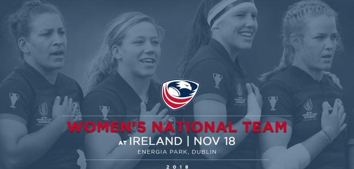 Women's Eagles Play Ireland in November