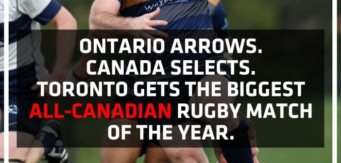 Ontario Arrows Face Canada Selects