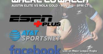 Austin Elite Rugby vs. New Orleans Gold MLR Preview