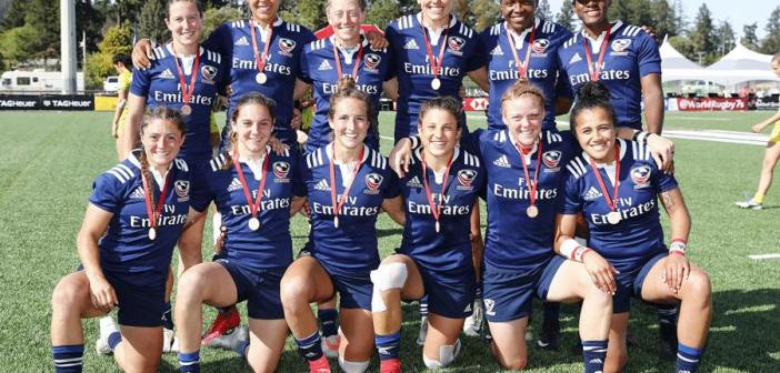 USA Women's Eagles Sevens Earn Bronze at 2018 Canada Sevens