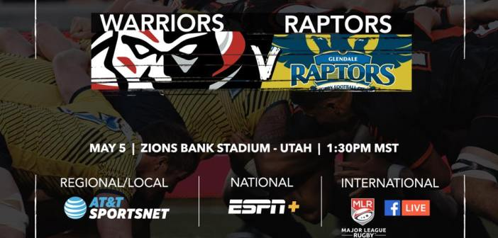 Utah Warriors vs. Glendale Raptors MLR Preview