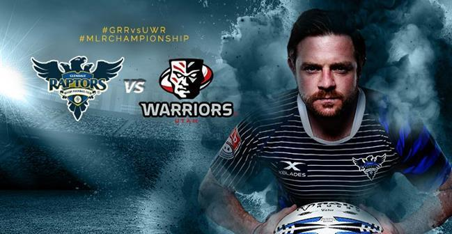 Major League Rugby Semi-Final: Glendale Raptors vs. Utah Warriors