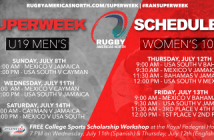 Rugby Americas North 2018 Superweek: Men's U19 & Women's 10s