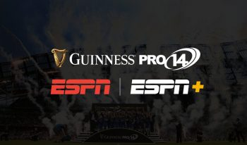 ESPN Secures Guinness PRO14 Rugby Championship Broadcast Rights