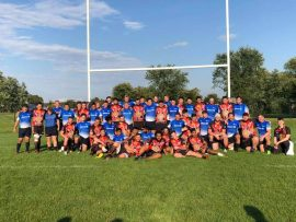 Ontario Blues Sr. Development XV Defeat Indigenous Australian Rugby Team