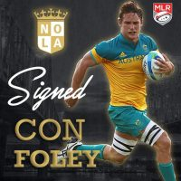 New Orleans Gold Rugby Signs Australia International Con Foley