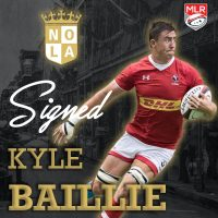 New Orleans Gold Rugby Signs Kyle Baillie
