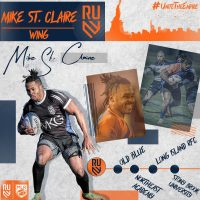Rugby United New York Signs Mike St. Claire