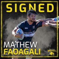 Houston SaberCats Sign Backrow Mathew Faoagali