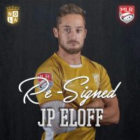 New Orleans Gold Rugby Re-Signs JP Eloff