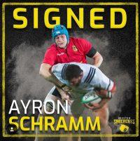 Houston SaberCats Sign Germany Backrow Ayron Schramm