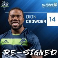 Seattle Seawolves Re-Sign Dion Crowder