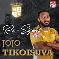 New Orleans Gold Re-Signs Jojo Tikoisuva