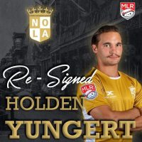 New Orleans Gold Re-Signs Holden Yungert