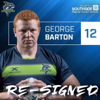 Seattle Seawolves Re-Sign George Barton