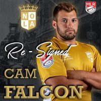 New Orleans Gold Re-Signs Cam Falcon