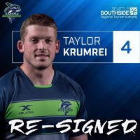 Seattle Seawolves Re-Sign Taylor Krumrei