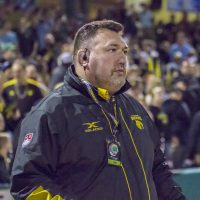 Houston SaberCats Head Coach Justin Fitzpatrick