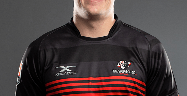 Utah Warriors Lock Matt Jensen