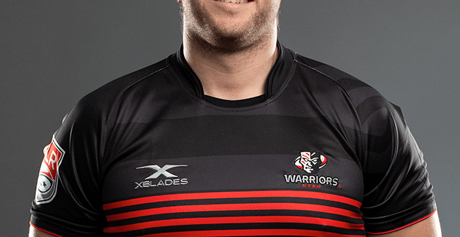 Utah Warriors Eagle Prop Angus Maclellan