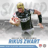 Austin Elite Rugby Adds Rikus Zwart