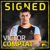 Houston SaberCats Sign Houston SaberCats Sign Victor Comptat