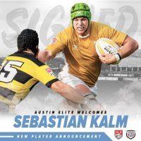 Austin Elite Rugby Signs Sebastián Kalm