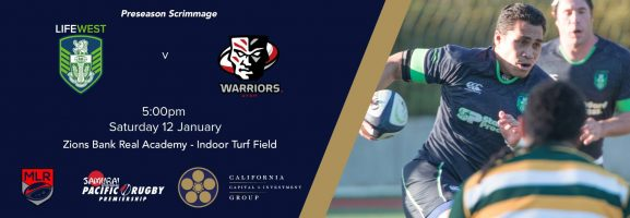 Utah Warriors vs Life West