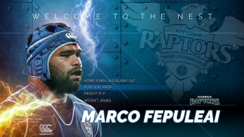 Glendale Raptors Signs New Zealand Prop Marco Fepuleai