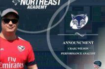 Northeast Academy Names Craig Wilson Performance Analyst