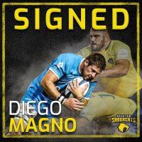Houston SaberCats Sign Uruguay Cap Leader Diego Magno