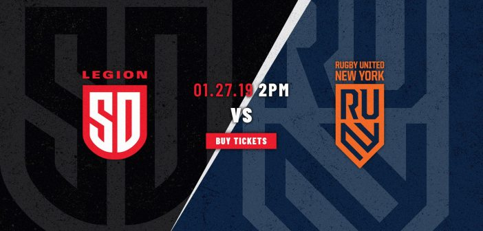 San Diego Legion vs. Rugby United New York: MLR Preview