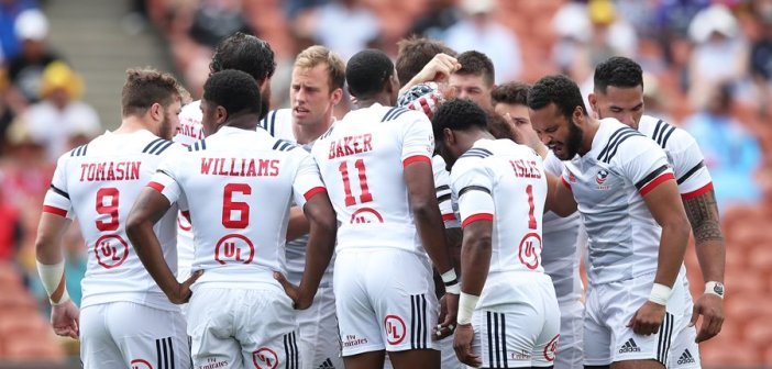 USA Men's Eagles Sevens Win Hamilton Sevens Pool