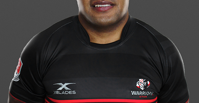 Utah Warriors Signs Maikeli Mudu Naromaitoga