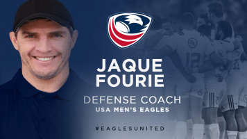 USA Rugby Names Jaque Fourie Men's Eagles Defense Coach