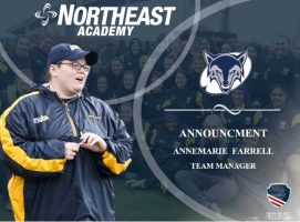 Northeast Academy Names Annemarie Farrell Team Manager