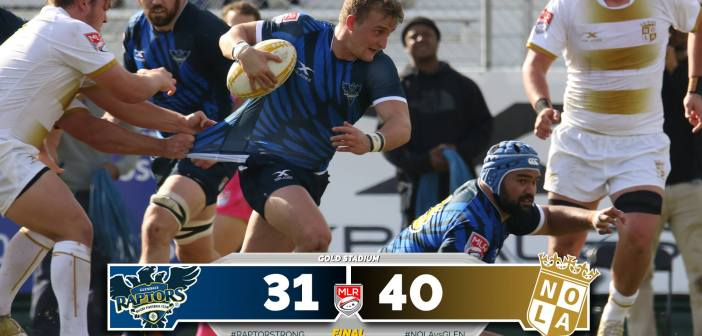 NOLA Gold Rugby Quality Win Over Glendale Raptors