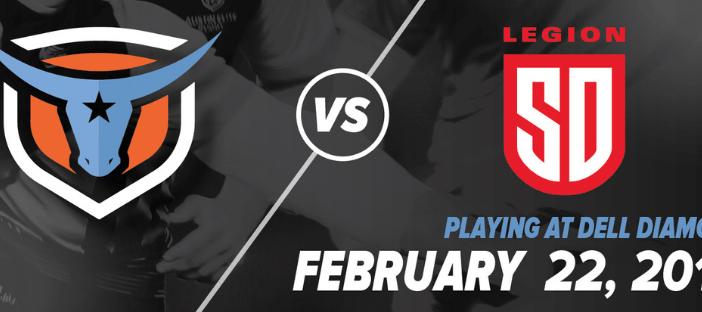 Austin Elite Rugby vs San Diego Legion: MLR 2019