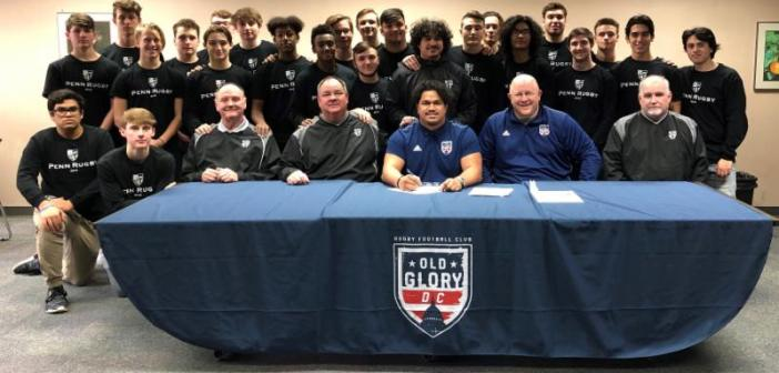 Old Glory DC Signs Will Vakalahi