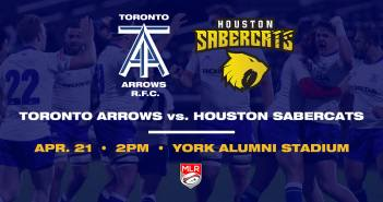 Toronto Arrows vs Houston SaberCats
