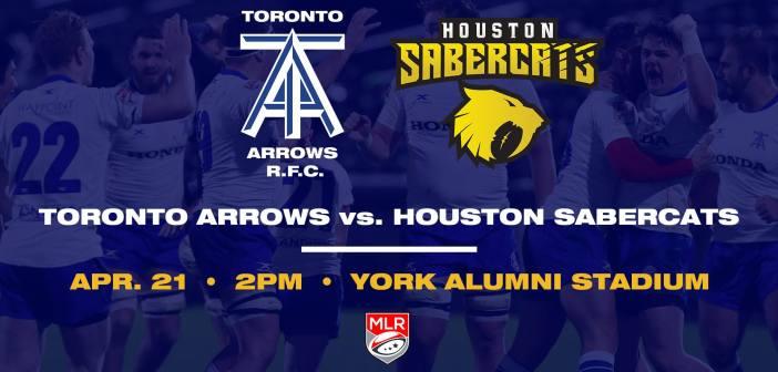Toronto Arrows vs Houston SaberCats