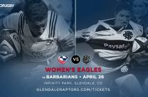 USA Women's Eagles and Barbarians Squads