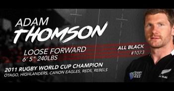 Utah Warriors Signs Adam Thompson