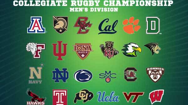Penn Mutual Collegiate Rugby Championship Men's Bracket Completed