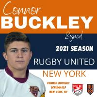 Rugby United New York Signs Connor Buckley