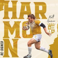 NOLA Gold Extends Matt Harmon Contract