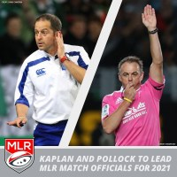 Jonathan Kaplan and Chris Pollock to Lead 2021 MLR Match Officials