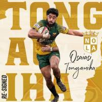 NOLA Gold Re-Signs Osaiasi Tongauiha
