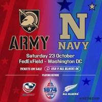 Army vs Navy Curtain Raiser for USA vs All Blacks