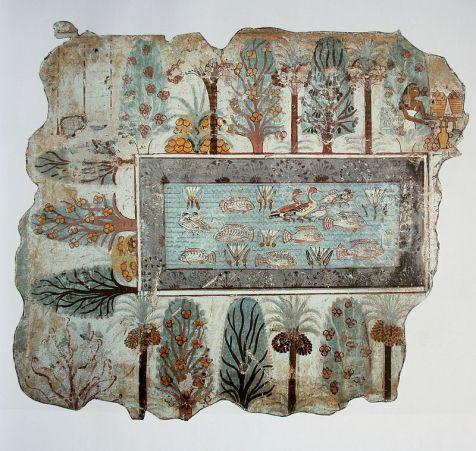 Dipinto dalla tomba di Nebamun (XVIII din.), British Museum